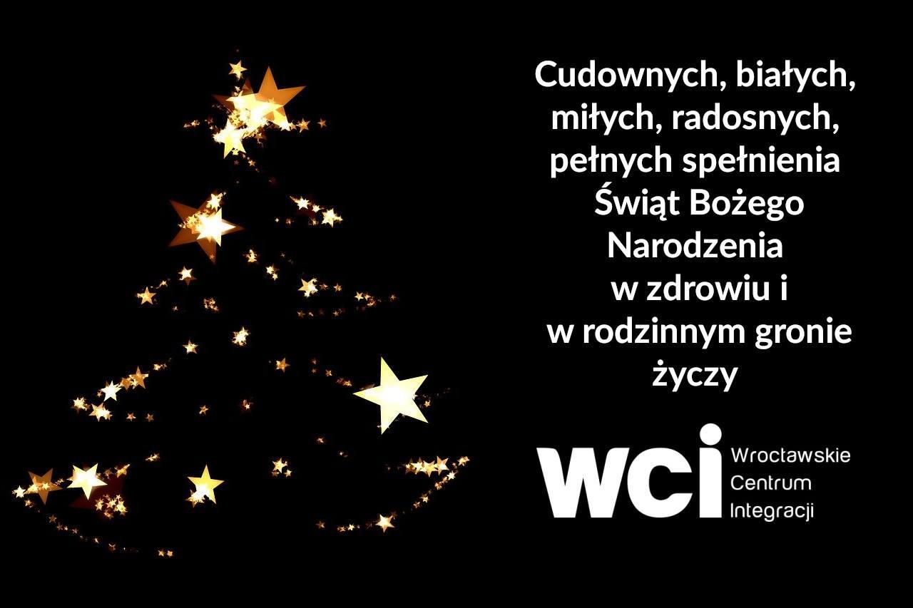 Życzenia świąteczne od Wrocławskiego Centrum Integracji
