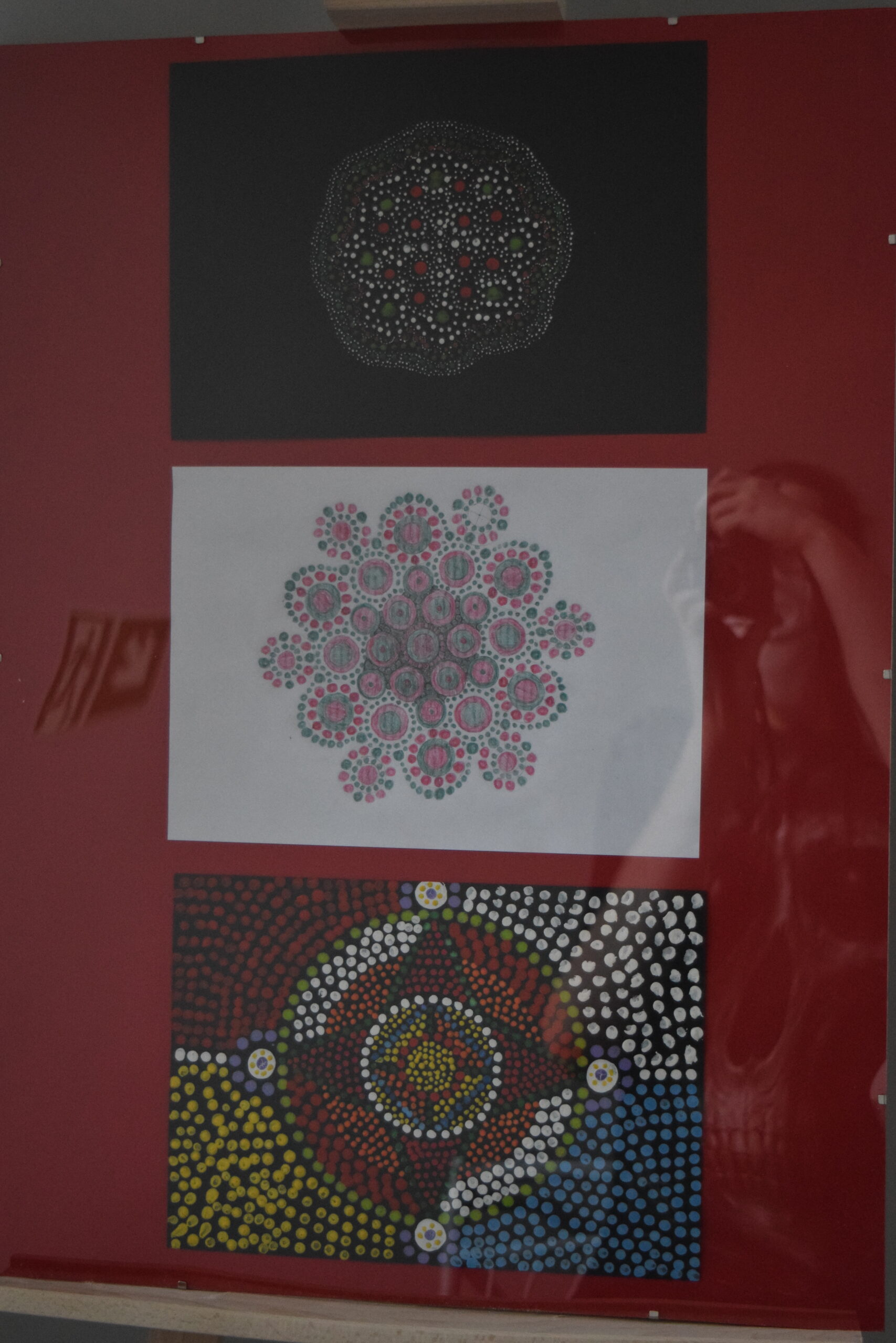 3 mandale stworzone przez uczestników