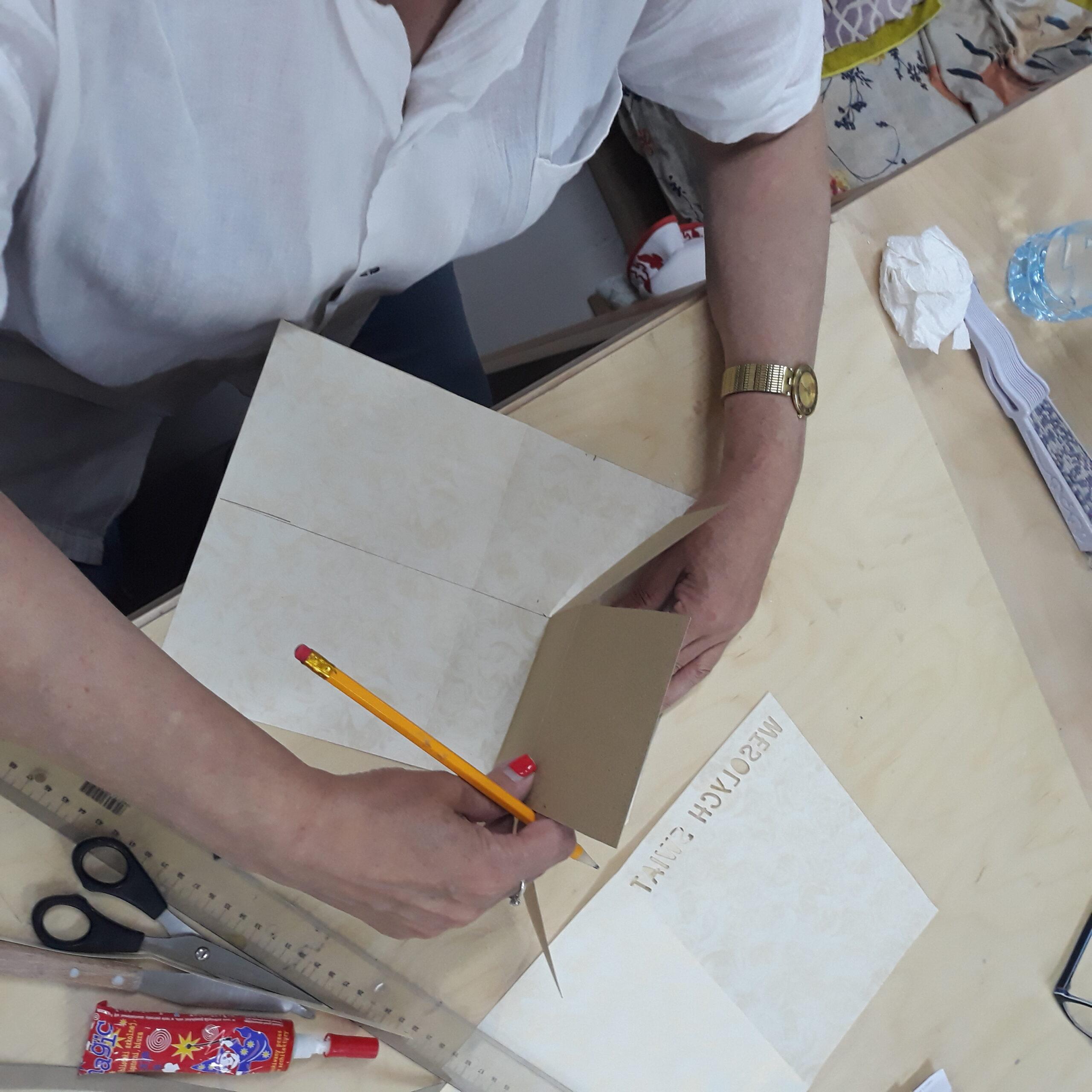 Exploding box w trakcie tworzenia